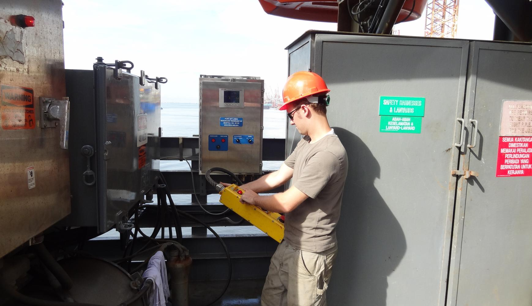 Pendants Tested, winch monitoring, wireline monitoring