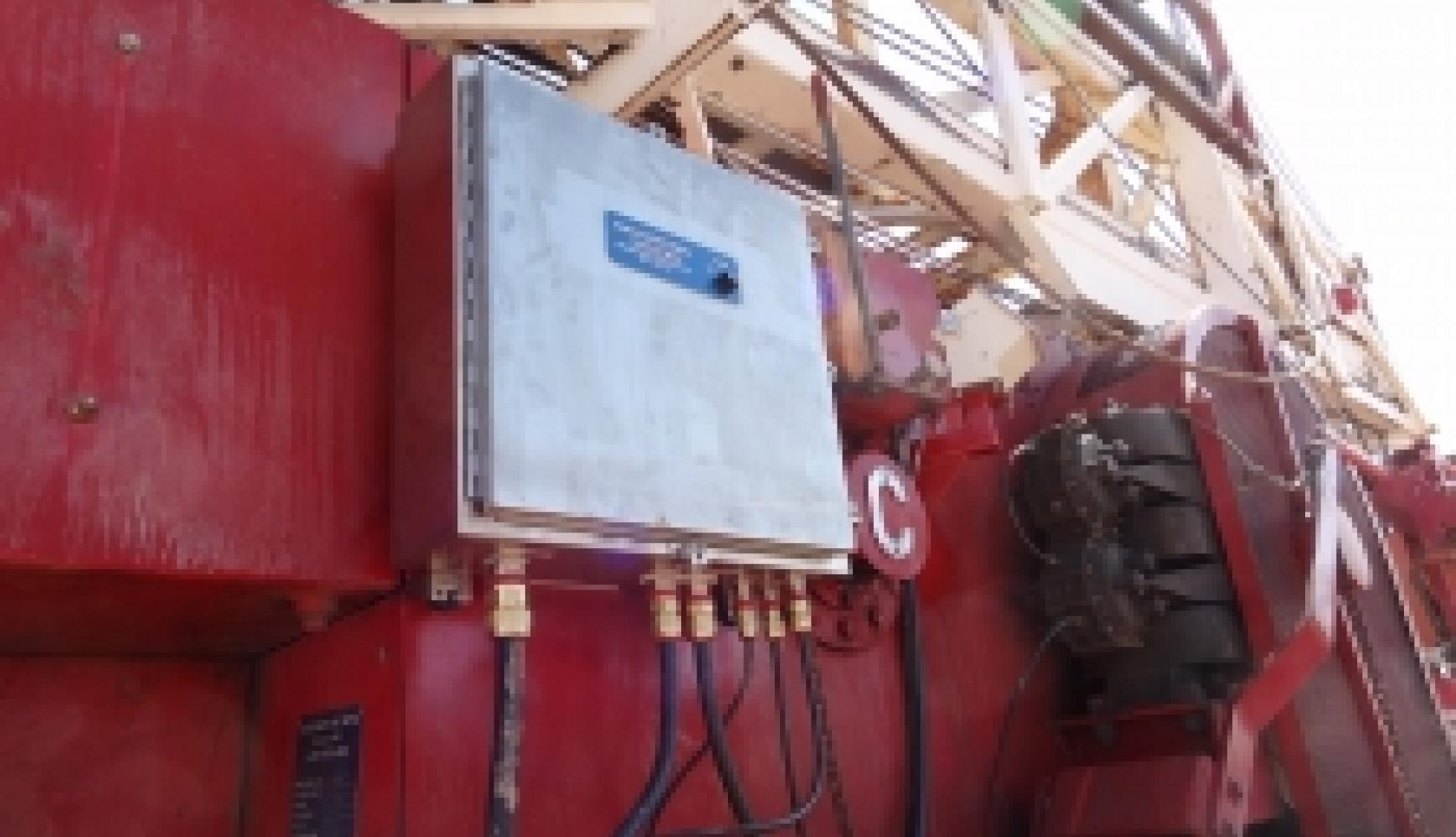 Rig Monitoring System - RMS, tension monitoring, rope tension
