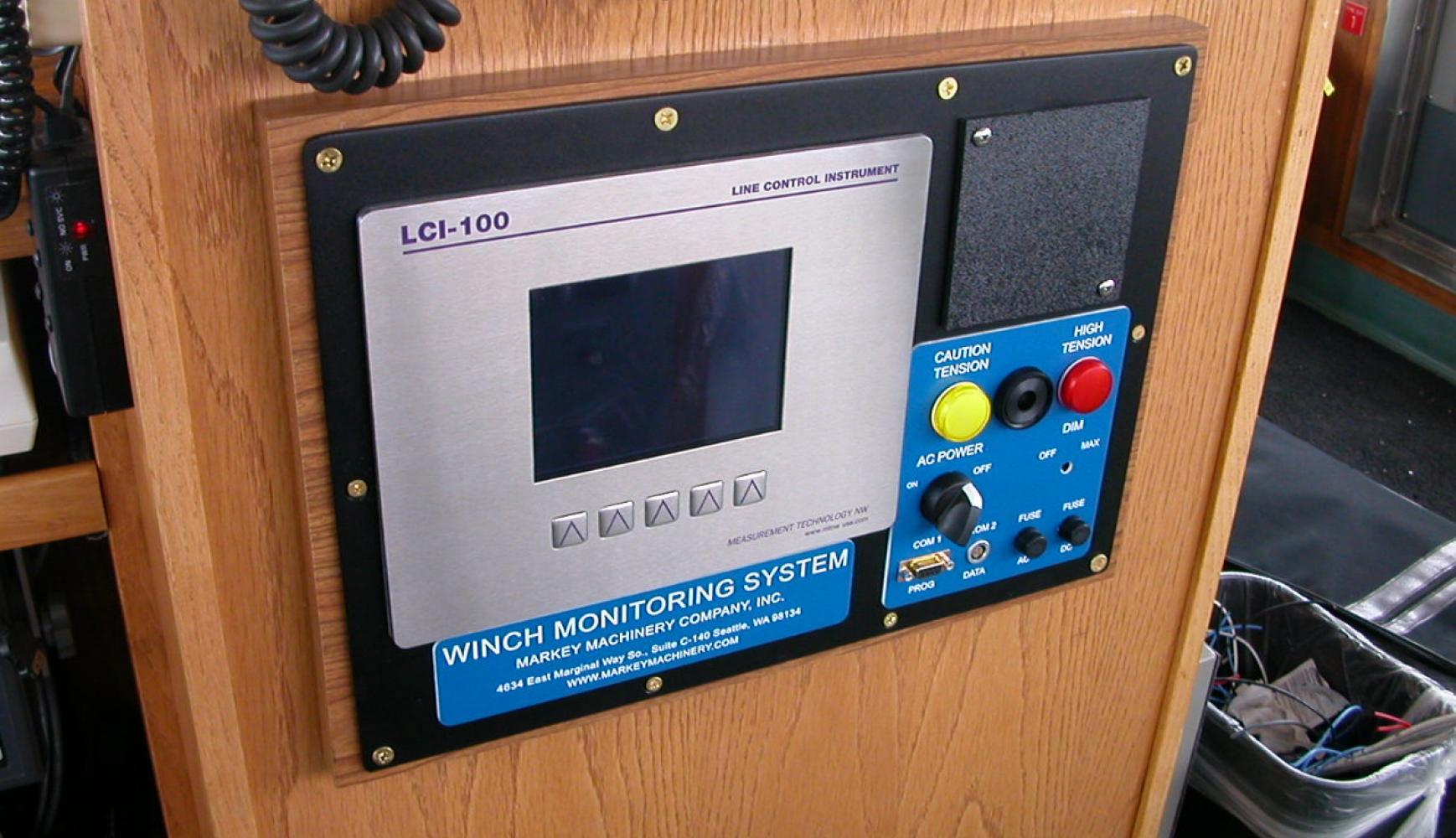 Local Monitoring Station, winch monitoring, payout display