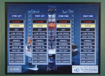 HMI Winch Controls