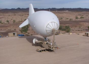 Lockheed Martin Aerostat / Blimp Winch Monitoring