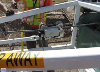 rope tension monitoring, payout display, winch monitoring
