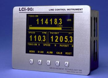 LCI-90i Drum Counter with Layer Compensation Algorithm